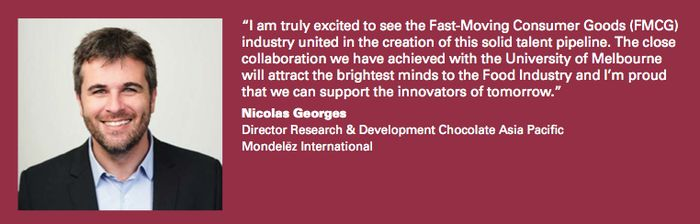 Nicolas Georges - Director Premium Chocolate & Dairy Research and Development Asia Pacific, Mondelēz International