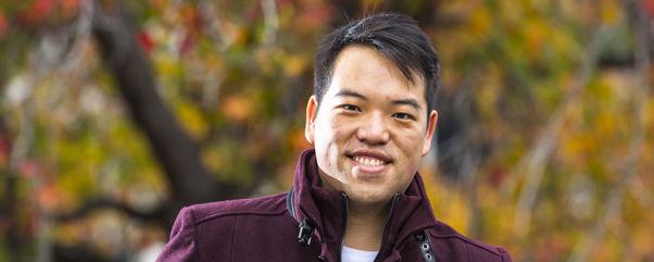 Adrian Yeung, MIB student