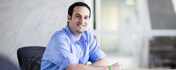 Omar Akbik, Master of Management (Finance), 2013 graduate.