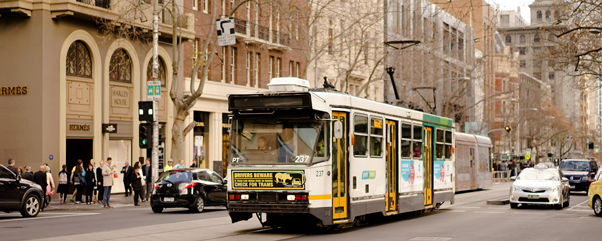 City of Melbourne tram