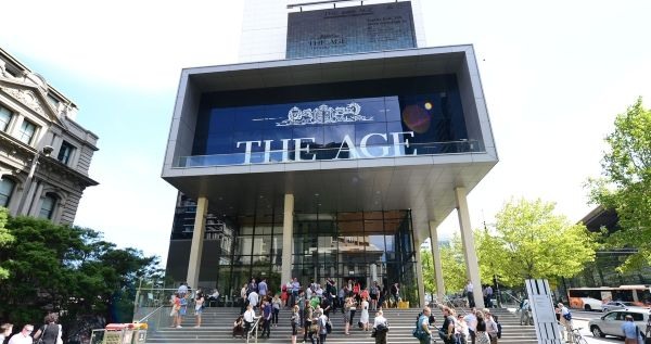 The Age Newspaper  Building