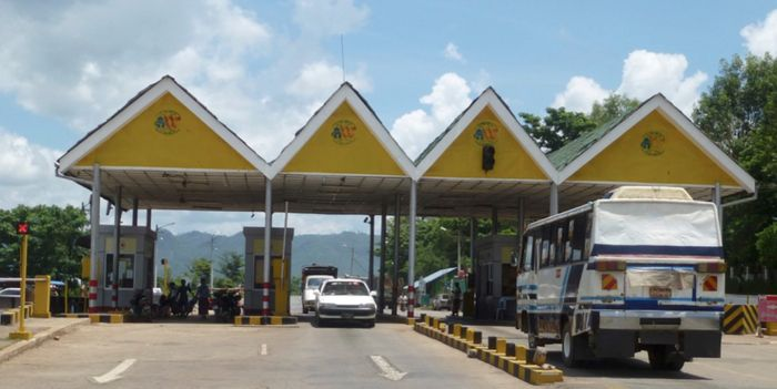 Asia Highway toll road, Mandalay to Lashio, Shan State