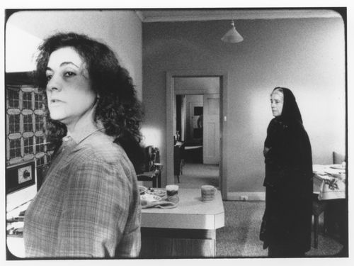 Still from Antamosi (1991) directed by Ana Kokkinos.