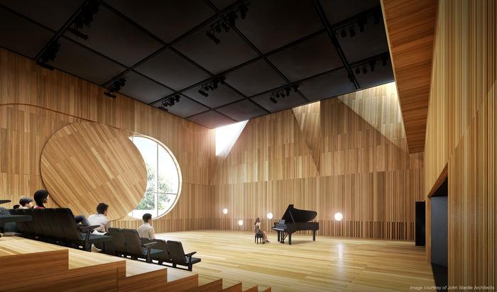 Melbourne Conservatorium Studio 1 concept